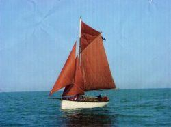 <p><strong>Theta</strong></p><p>Designer: Percy Dalton<br />Builder: North Cornwall Marine<br />Launched: 1982<br />Class: Tamarisk 29</p>
