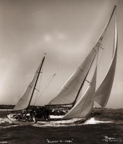 <p><strong>Eloise 11 (photo Beken)</strong></p><p>Designer: Sergent<br />Builder: Herve La Rochelle<br />Launched: 1958<br />Class: One off</p>