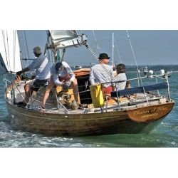 <p><strong>Charm of Rhu</strong></p><p>Designer: Archie Macmillan<br />Builder: Fife Yard Fairlie<br />Launched: 1963<br />Class: One off</p>