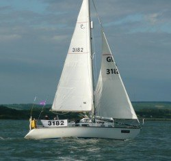 <p><strong>Snowbird of Hamble</strong></p><p>Designer: David Thomas<br />Builder: Peter Webster<br />Launched: 1973<br />Class: Elizabethan 30</p>