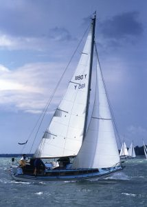 <p><strong>Alona</strong></p><p>Designer: Alan Buchanan<br />Builder: J May<br />Launched: 1969<br />Class: East Anglian One Design</p>
