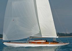<p><strong>Erida</strong></p><p>Designer: Royal Swedish Yacht Club Square Meter rule<br />Builder: Abeking and Rassmussen<br />Launched: 1937<br />Class: German 30 Square Metre (Windfall Yacht) </p>