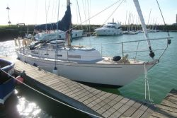 <p><strong>Skebawn</strong></p><p>Designer: Kim Holman<br />Builder: Maltings Boats and Angus Harris <br />Launched: 1984<br />Class: Rustler 31</p>