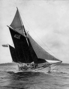 <p><strong>Escape</strong></p><p>Designer: Colin Archer<br />Builder: Kristensen<br />Launched: 1937<br />Class: Sailing Lifeboat</p>