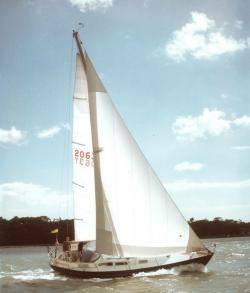 <p><strong>Samiotissa (photo Beken)</strong></p><p>Designer: Peter Nicholson<br />Builder: Camper & Nichloson<br />Launched: 1973<br />Class: Nicholson 35</p>