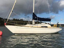 <p><strong>Maija</strong></p><p>Designer: E G Van de Stadt <br />Builder: Tyler's/ Southern Ocean Shipyard <br />Launched: 1976<br />Class: Pionier 10 </p>