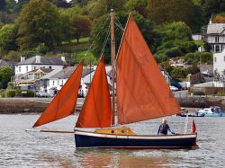 <p><strong>Nare Mist</strong></p><p>Designer: Terry Heard <br />Builder: Terry Heard <br />Launched: 1976<br />Class: Mevagissey Tosher </p>